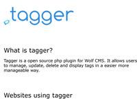 Tagger Webpage