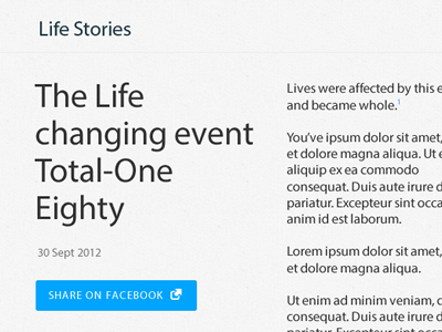 True Word Article editorial blog church