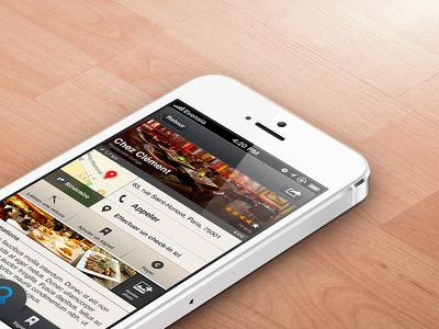 Yelp-like App ios ui iphone interface user interface app