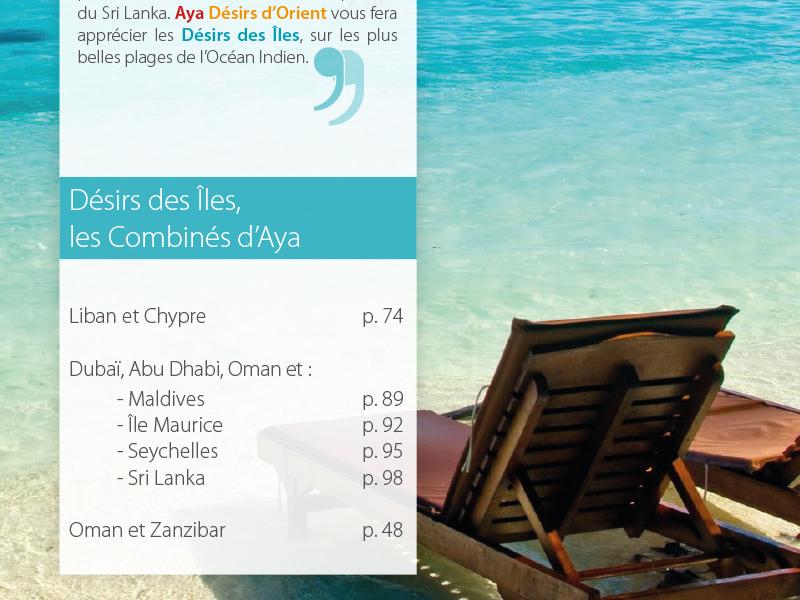 Aya brochure 2014 print brochure travel graphic design indesign
