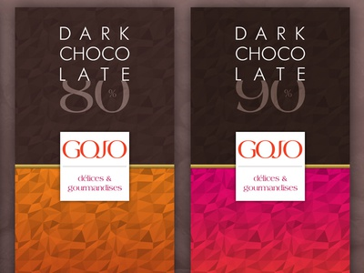 Gojo Chocolate bars visual identity logotype logo brand identity branding packaging