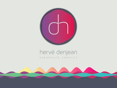My own new visual identity ad leaflet web business card letterhead logo branding