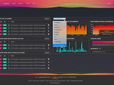 Dashboard UI web dashboard ui
