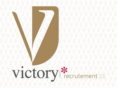 Victory logo visual identity logotype logo