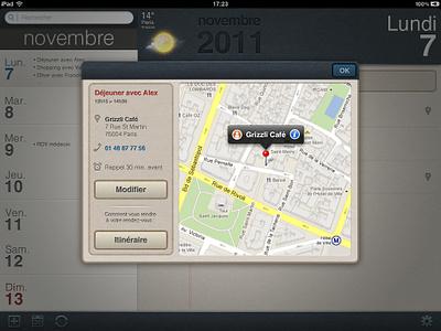 iPad agenda project ux ios ipad ui interface user interface
