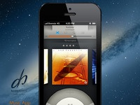 Music app iphone5