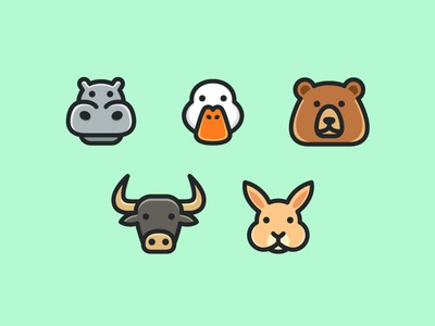 Animal Icons Set - 02