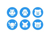 Animal Icons Set - 03