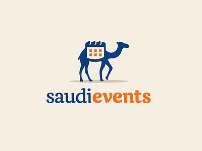 Camel + Calendar africa transportation nomadic safari tourism mammal travel journey arab desert saudi arabia event calendar illustrative illustration character mascot camel animal brand branding logo identity
