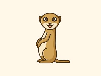 Meerkat Mascot - Opt 1