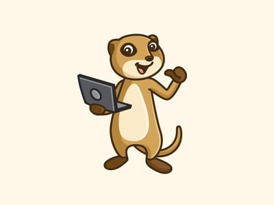 Meerkat Mascot - Opt 2