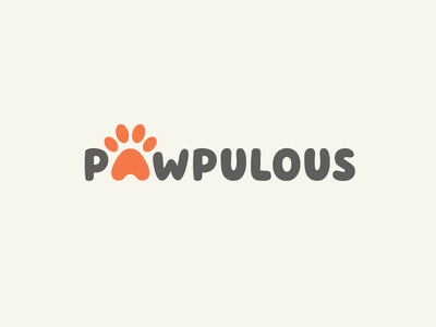 A + Paw dog cat pet logo identity brand branding animal publication cute fun funny doggie puppy paw print logotype wordmark font typography creative smart a letter unique clever