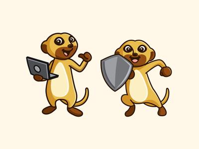 Meerkat Mascot - Final