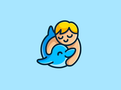 Kid and Dolphin