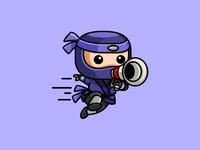 Ninja + Megaphone