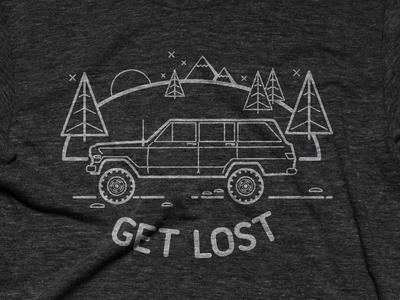 Get Lost (now on Cottonbureau!)