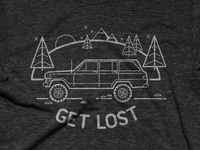 Get Lost (now on Cottonbureau!)
