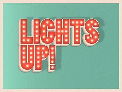 Lights up!
