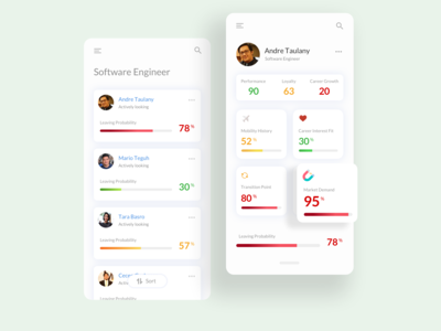 App design for HR company