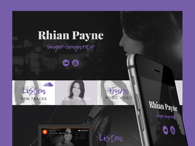 Rhian Payne - Web Design wordpress graphic design responsive commercial website web design