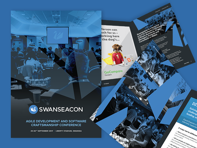 SwanseaCon - Brochure Design (2017) print design booklet print brochure graphic design