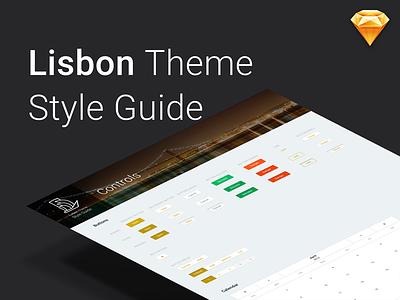 Lisbon Style Guide freebie download sketch ui patterns style sheet ui kit patterns lisbon theme outsystems silk ui style guide