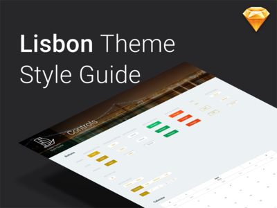 Lisbon Style Guide freebie download sketch ui patterns style sheet ui kit patterns lisbon theme outsystems silk ui style guide