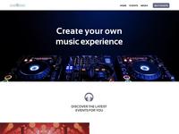 Wavesound Music Events Site