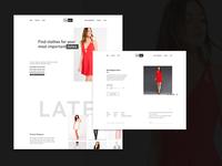 Natsuki - Clothes Website