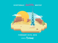 Dribble Meetup @ GoDaddy HQ (Scottsdale)