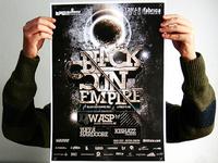 Black Sun Empire poster proof