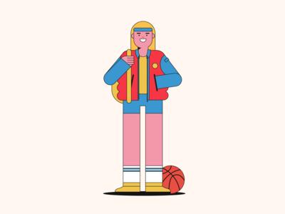 Basketball rookie