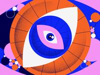 Rollin' eye
