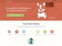 TrackMaven Homepage