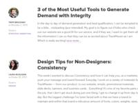 Redesigned Blog