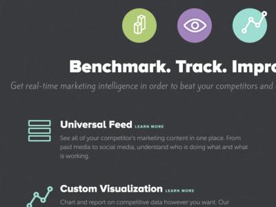 Benchmark. Track. Improve.