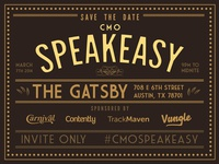 CMO Speakeasy