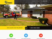 Pest Control Company Website