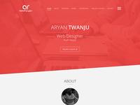 riseofaryan - personal portfolio website