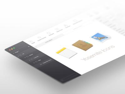 Sketch redesign sketch ui osx app interface