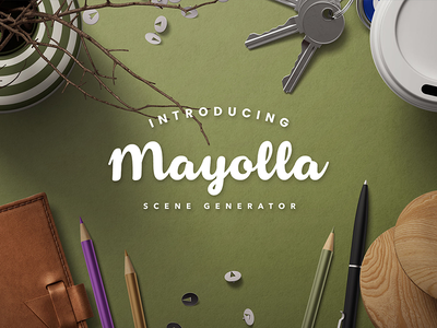 Mayolla Mockup Scene Generator scene creator ipad pro envelope macbook iphone hero image header background header image header mock-up scene generator mockup