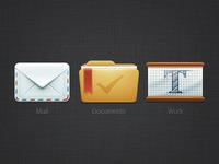 Icons desktop