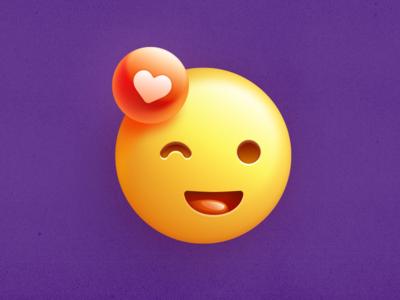 Smile Icon sketch badge happy like emoji smile icon