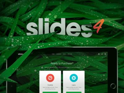Slides 4 Coming Soon! ux ui kit sketch psd slides slide design web framework