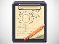 Icon sketch