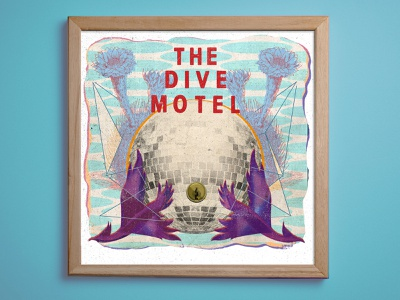 The Dive Motel poster art illustration