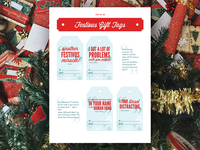 Festivus Gift Tags