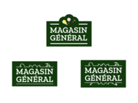 WIP - Magasin General logo exploration