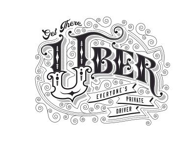 Vintage Uber vintage badge retro font western rustic vintage logo era 1800s retro classic branding logo victorian old school lettering illustration typography type vintage