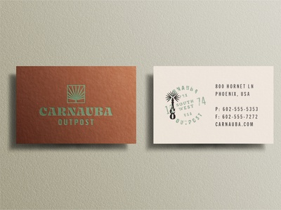 Resort Business Card